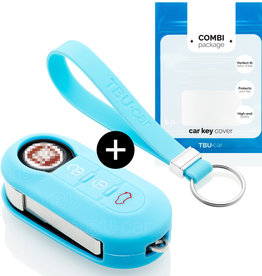 Lancia Capa Silicone Chave - Azul claro