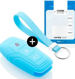 Ford Car key cover - Light Blue