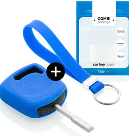 Ford Capa Silicone Chave - Azul