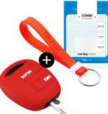 Lexus Autoschlüssel Hülle - Silikon Schutzhülle - Schlüsselhülle Cover - Rot