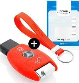 Mercedes Car key cover - Vermelho