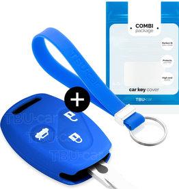 Honda Schlüssel Hülle - Blau