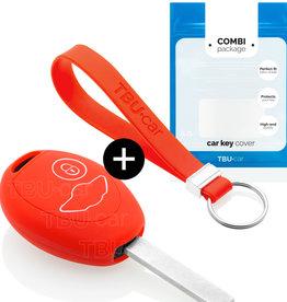 Mini Capa Silicone Chave - Vermelho