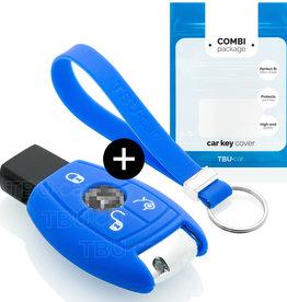 Mercedes Car key cover - Azul