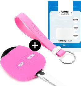 Mitsubishi Car key cover - Pink