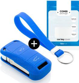 Porsche Car key cover - Blue