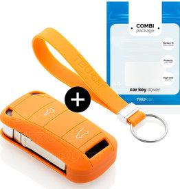 Porsche Car key cover - Orange