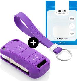Porsche Car key cover - Purple