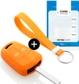 Opel Schlüssel Hülle - Orange