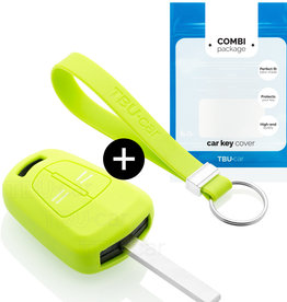 Opel Car key cover - Lime