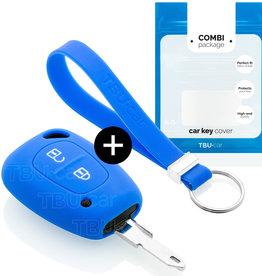 Opel Schlüssel Hülle - Blau