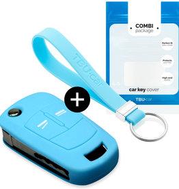 Opel Car key cover - Azul claro