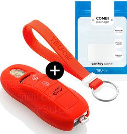 Porsche Car key cover - Red