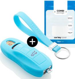 Porsche Car key cover - Light Blue