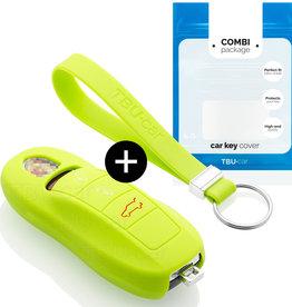 Porsche Car key cover - Lime