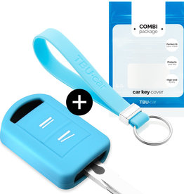 Vauxhall Car key cover - Light Blue