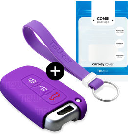 Hyundai Car key cover - Purple