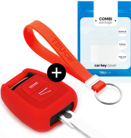 Vauxhall Car key cover - Red