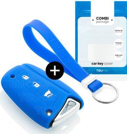 Hyundai Car key cover - Blue