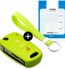 Kia Car key cover - Lime