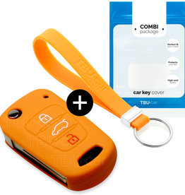 Kia Car key cover - Orange