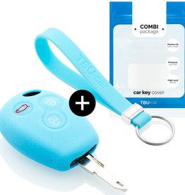 TBU car Smart Sleutel Cover - Lichtblauw