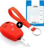 Smart Autoschlüssel Hülle - Silikon Schutzhülle - Schlüsselhülle Cover - Rott