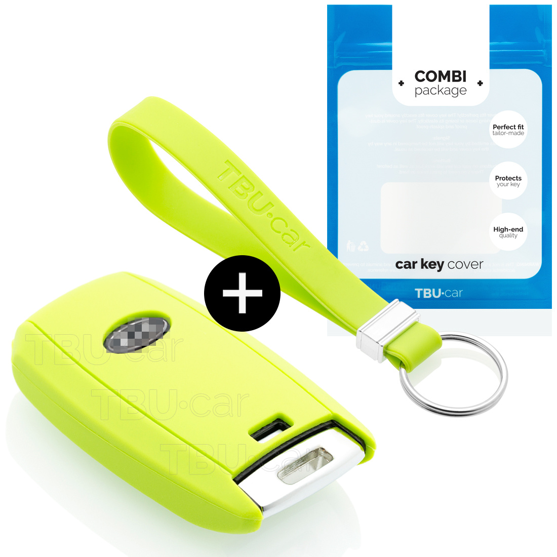 Kia Autoschlüssel Hülle - Silikon Schutzhülle - Schlüsselhülle Cover - Lindgrün