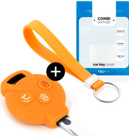 Smart Car key cover - Orange