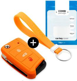 Skoda Schlüssel Hülle – Orange