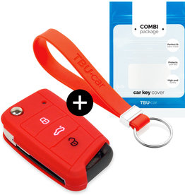 Skoda Schlüssel Hülle – Rot