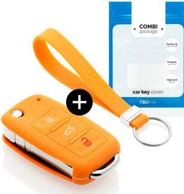 Skoda Schlüsselhülle - Orange