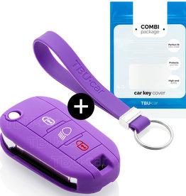 Peugeot Schlüsselhülle - Violett