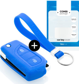 Peugeot Capa Silicone Chave - Azul