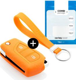 Peugeot Schlüssel Hülle - Orange