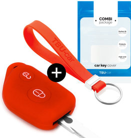 Peugeot Car key cover - Red
