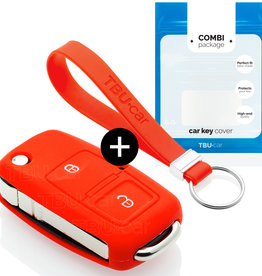 Seat Car key cover - Red