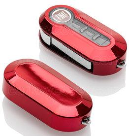 Fiat Car key cover - Red Chrome (Special)
