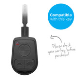 TBU car TBU car Car key cover compatible with BMW - Silicone Protective Remote Key Shell - FOB Case Cover - Black
