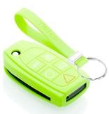 TBU car TBU car Autoschlüssel Hülle kompatibel mit Volvo 5 Tasten - Schutzhülle aus Silikon - Auto Schlüsselhülle Cover in Im Dunkeln leuchten