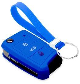 TBU car Skoda Car key cover - Blue