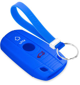 TBU car BMW Car key cover - Blue