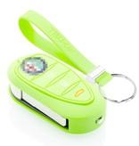 TBU car TBU car Car key cover compatible with Alfa Romeo - Silicone Protective Remote Key Shell - FOB Case Cover - Glow in the Dark