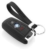 TBU car TBU car Funda Carcasa llave compatible con BMW - Funda de Silicona - Cover de Llave Coche - Negro