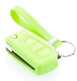 TBU car TBU car Sleutel cover compatibel met Toyota - Silicone sleutelhoesje - beschermhoesje autosleutel - Glow in the Dark