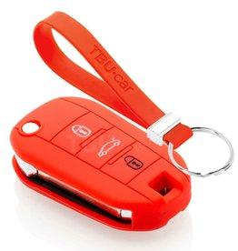 TBU car Peugeot Sleutel Cover - Rood