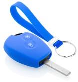TBU car TBU car Funda Carcasa llave compatible con Dacia - Funda de Silicona - Cover de Llave Coche - Azul
