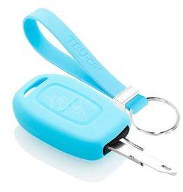 TBU car Dacia Sleutel Cover - Lichtblauw