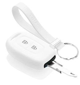 TBU car Dacia Car key cover - White