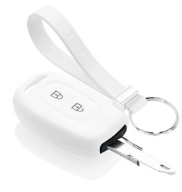 TBU car Dacia Funda Carcasa llave - Blanco
